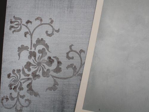 More wall finish samples