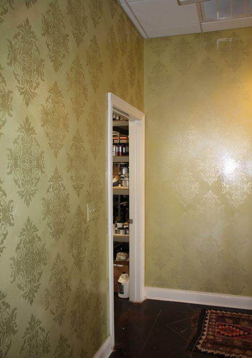 Hallway walls