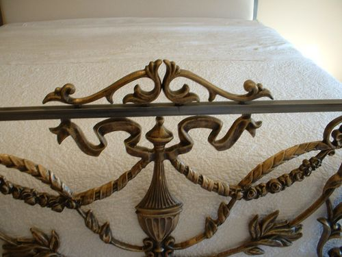 Corsican bed 41632 footboard