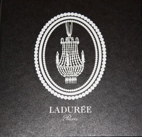 Laduree black packaging