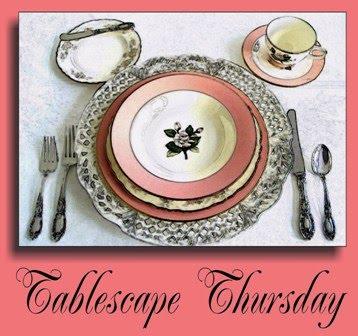 Tablescape Thursday Button