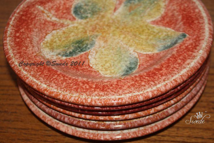 Swede Vietri plates8003