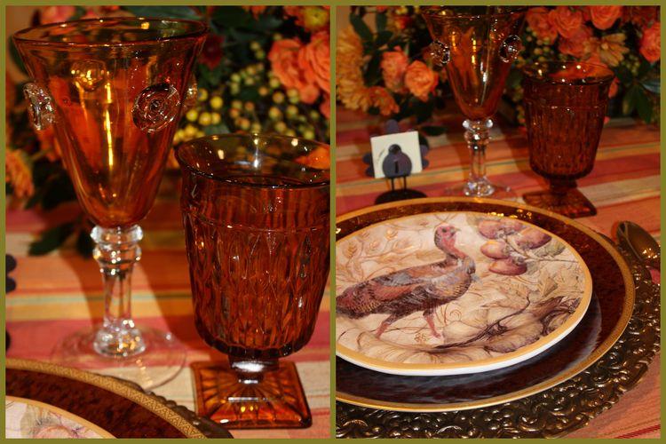 Two turkey shots