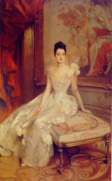 Florence Vanderbilt by John Singer Sargent 1896
