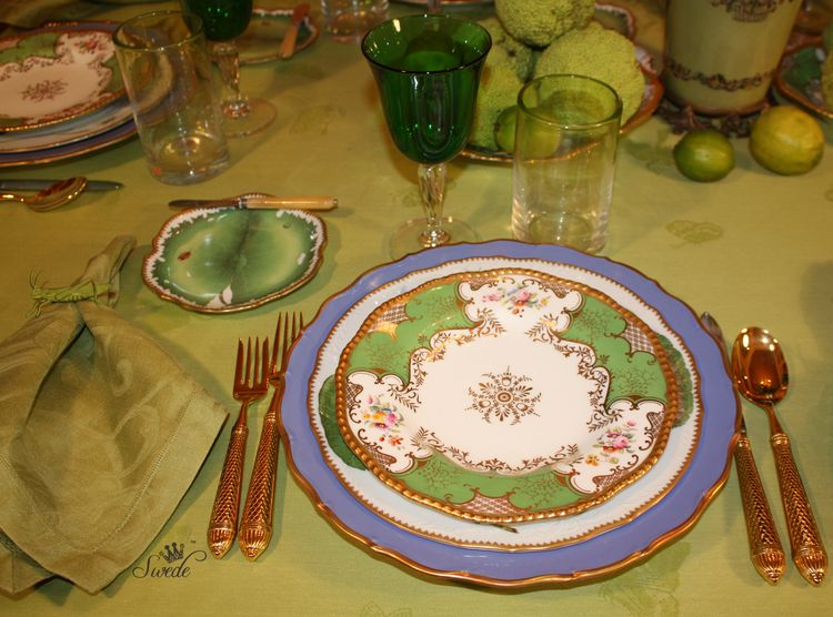 Swede appetizer plate 7931