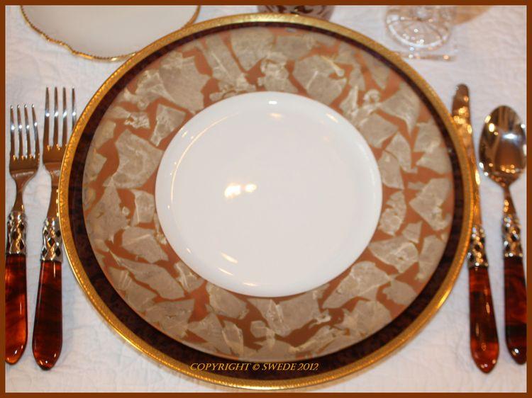 Gypsies dinner plate logo