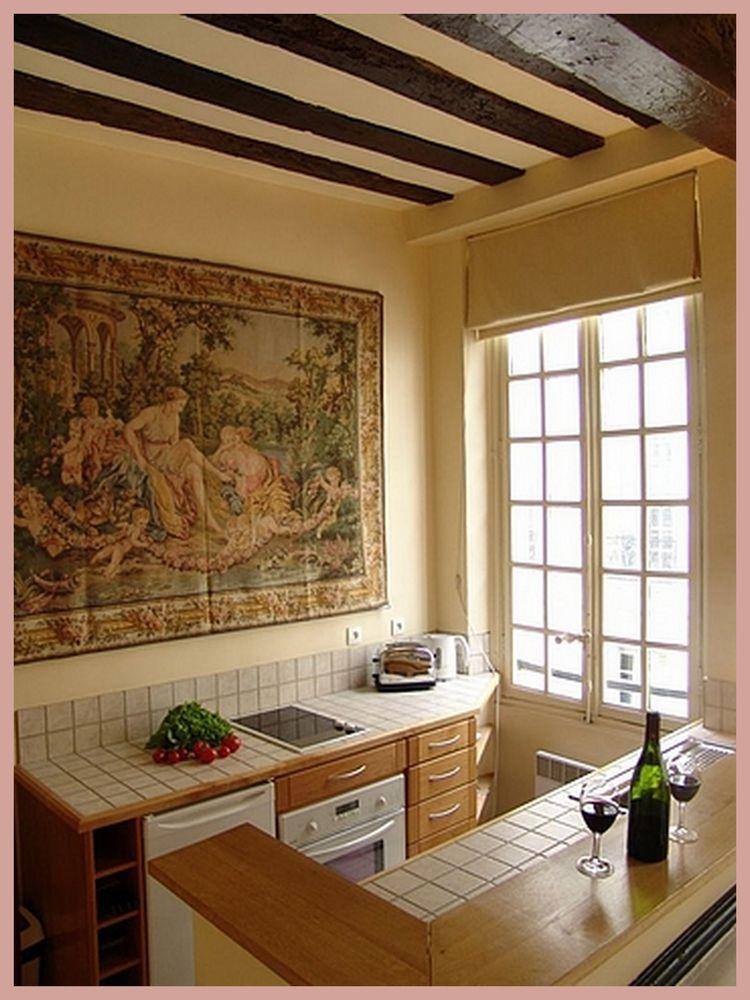 Little galley kitchen