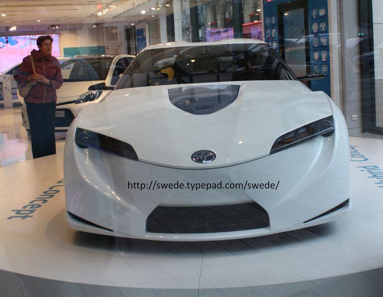 Toyota hybrid 4