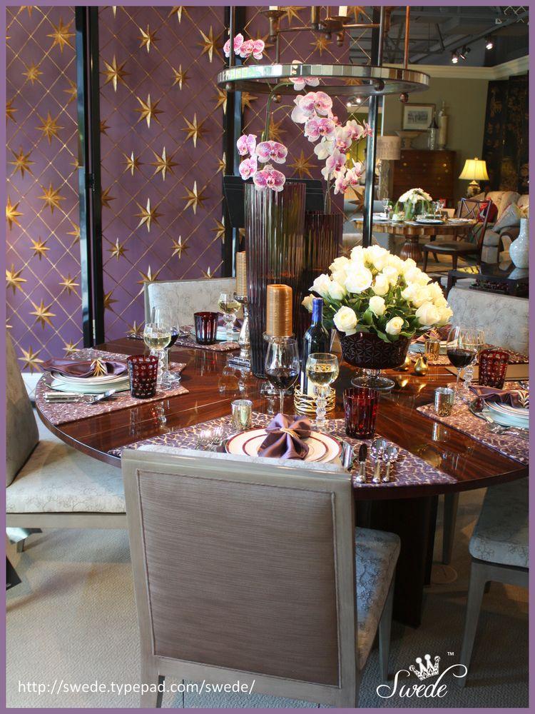 Purple dining chairslogo