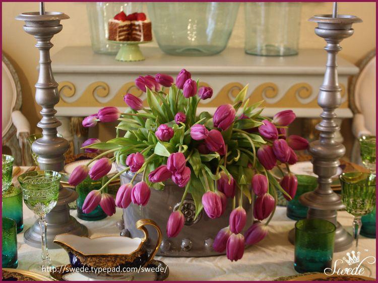 Tulip centerpiece bor lo