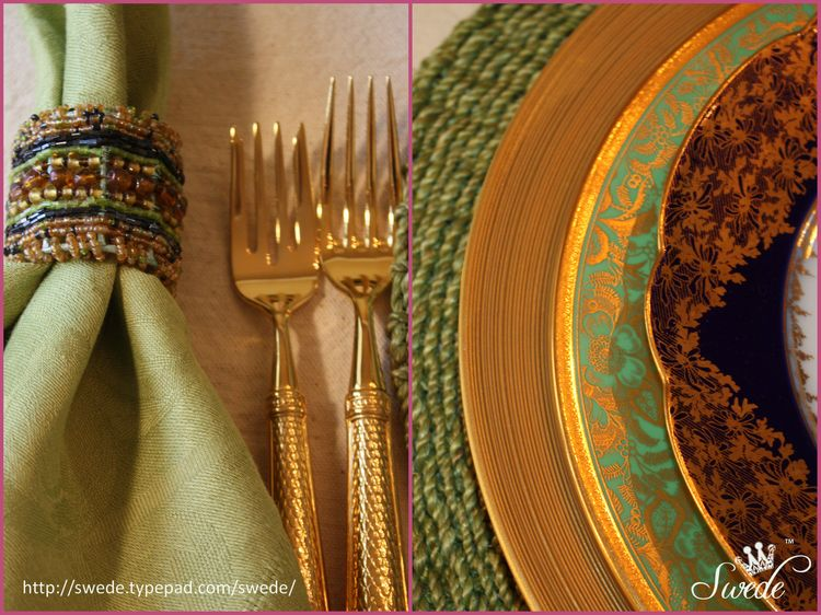 Collage forks and plate edges lo