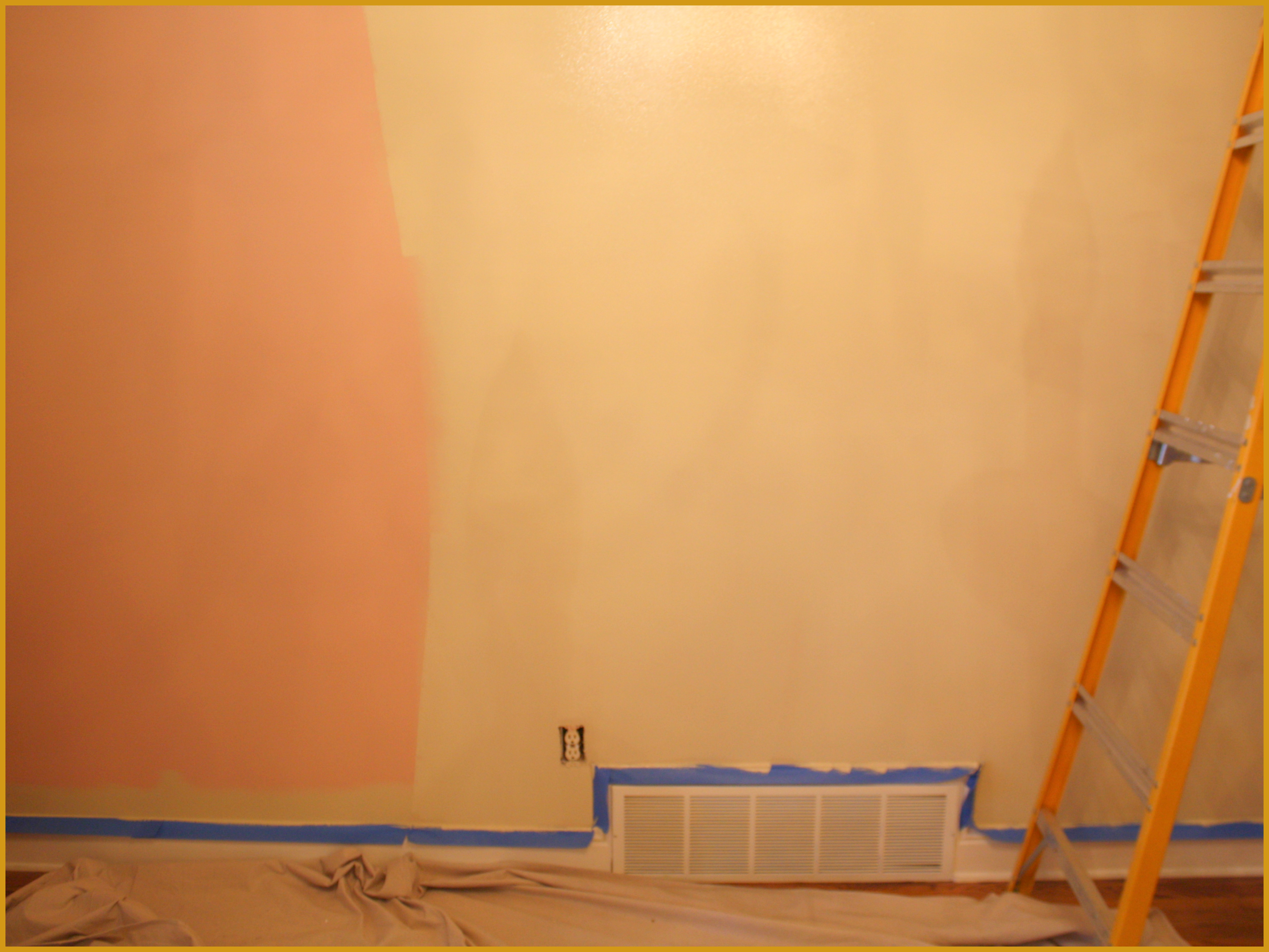 Dining Room Changes: My DIY Gallery Wrap Canvas Project - Swede