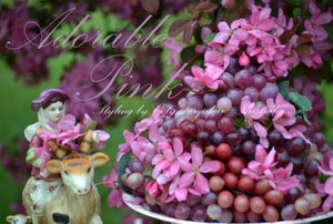 Coty Farquhar Blossoms dark pink spring