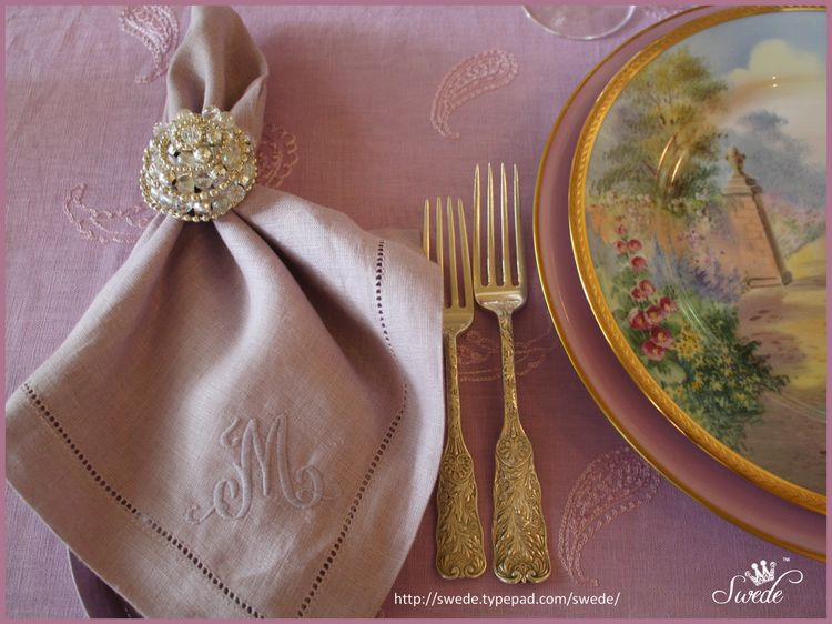 Napkin silver plates lo