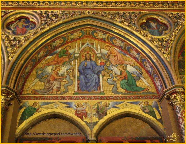 Saint chapelle wall 2013-05-164 logo
