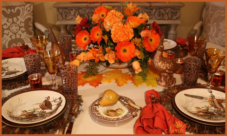 Tablescape Autumn Dinner Swede