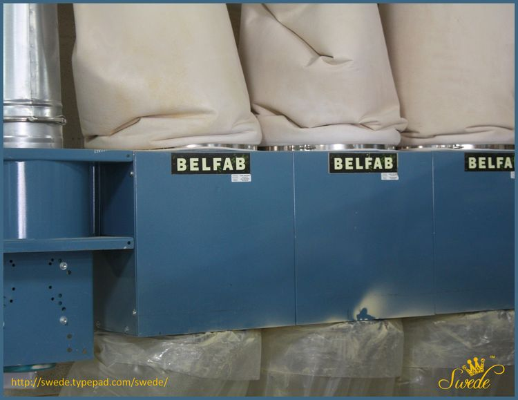 Belfab dust collection