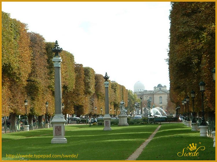 Autumn in Paris Jardin du Luxembourglogo