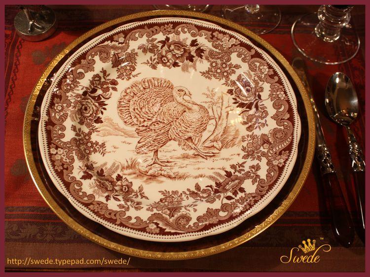 Dinner plate Copeland Spode