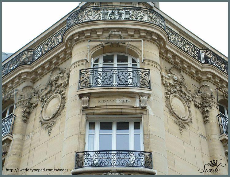 1894 beautiful building Parislogo