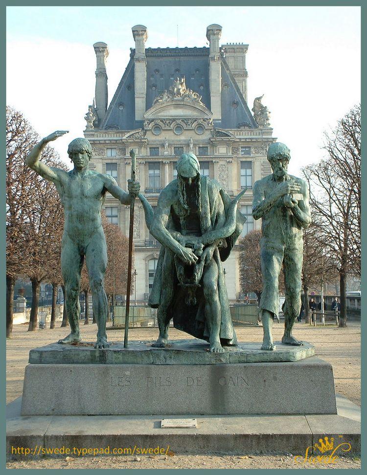 Les fils de cain statute paris tuilerieslogo