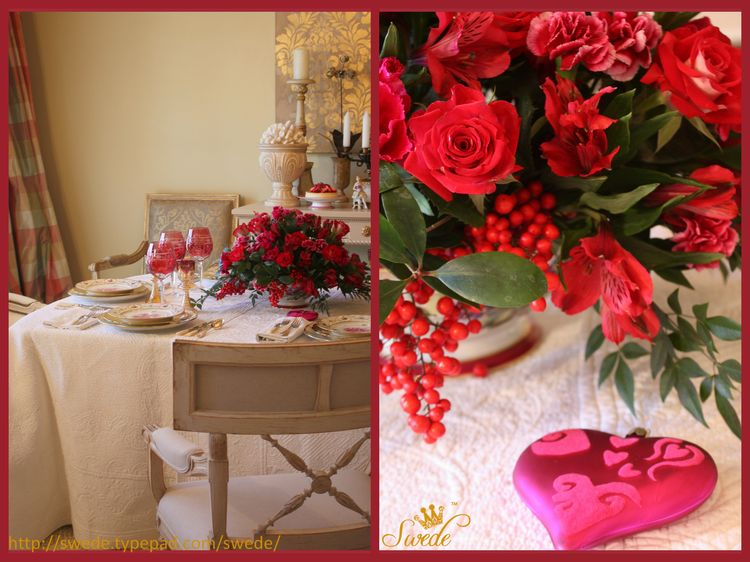 Valentine table duologo