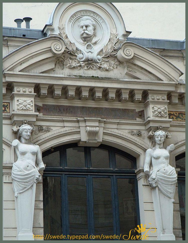Theatre montparnasse toplogo