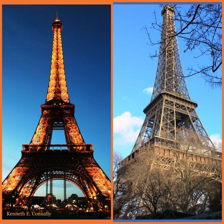 Eiffel night and day 3