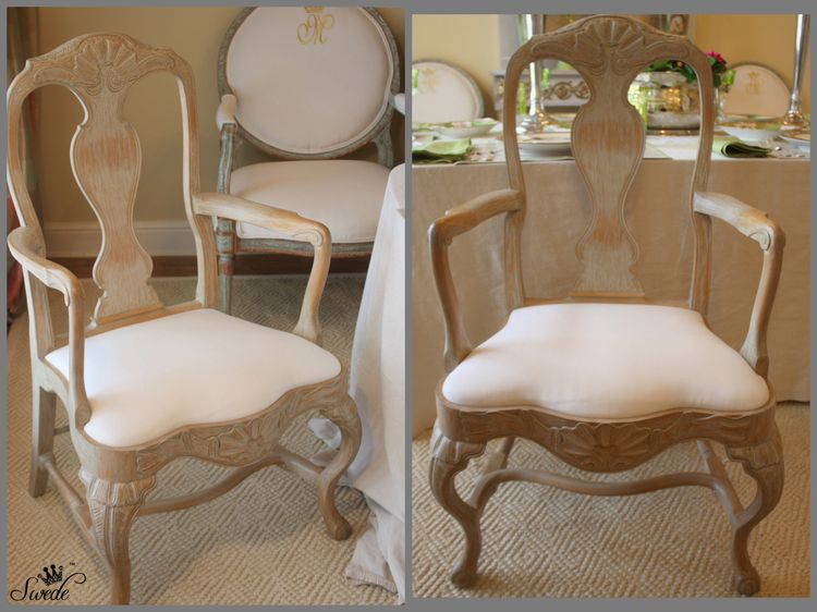 Rococo chairs pairlo