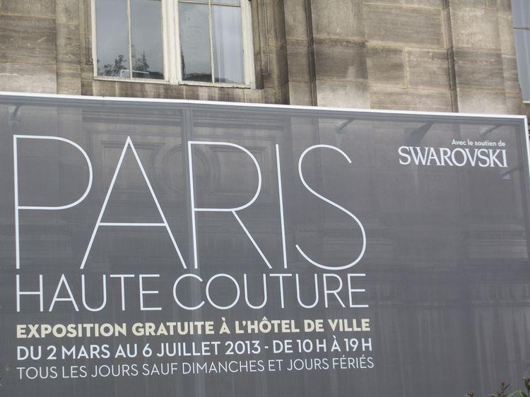 Couture Exhibit