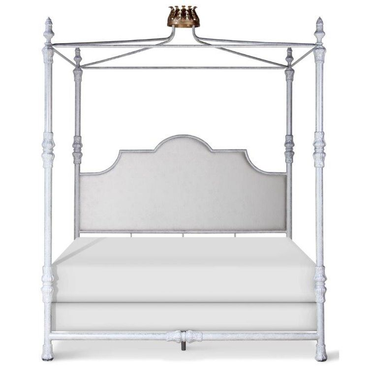 Swede King Crown Iron Bed