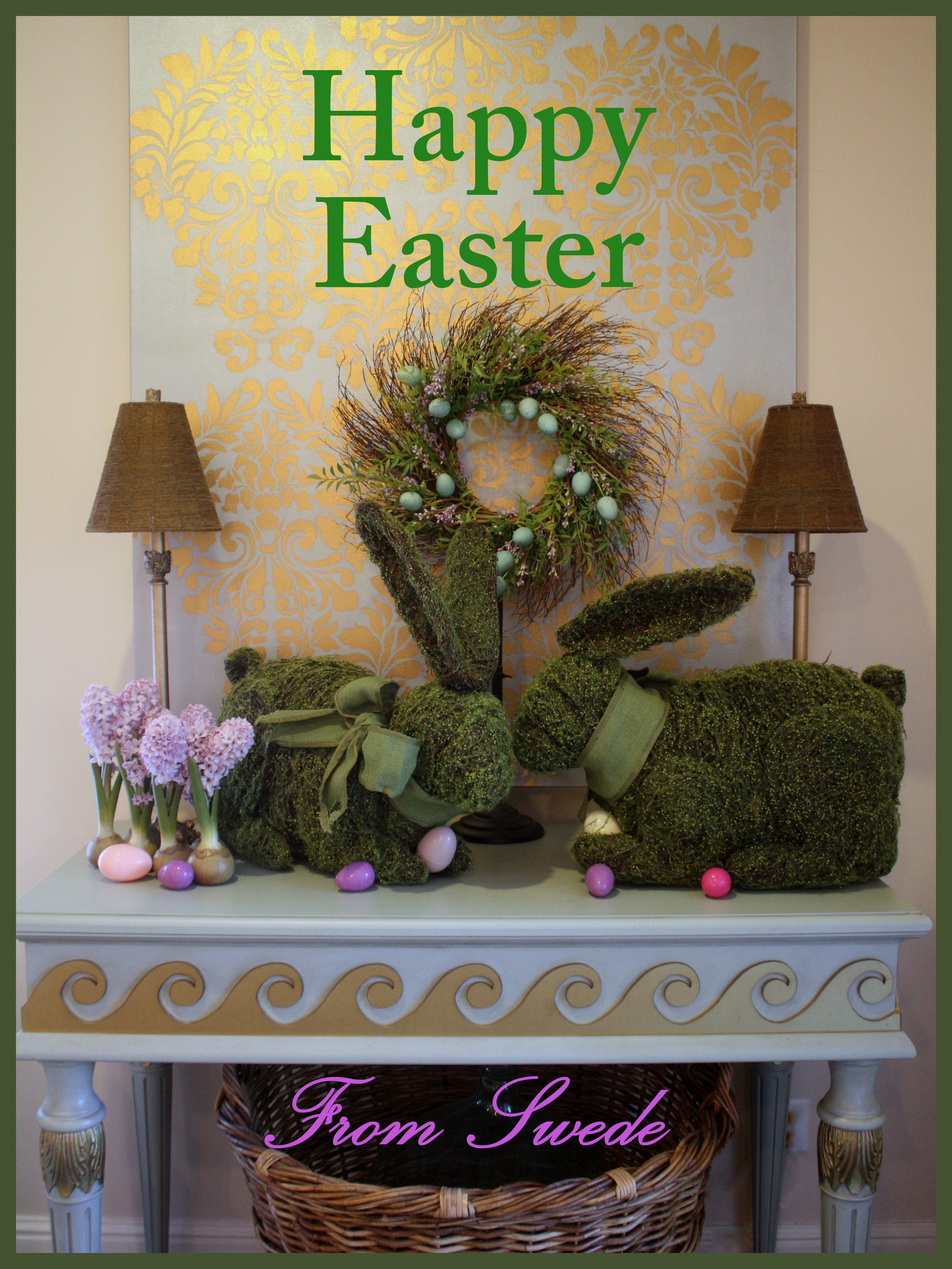 Easter Holiday Greetings Swede