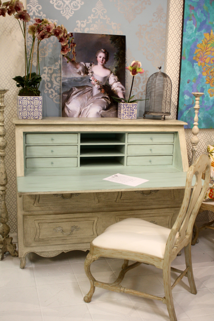 Desk From Antique Photo