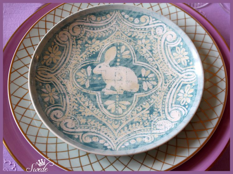 Photo 6 rabbit plate 75lo