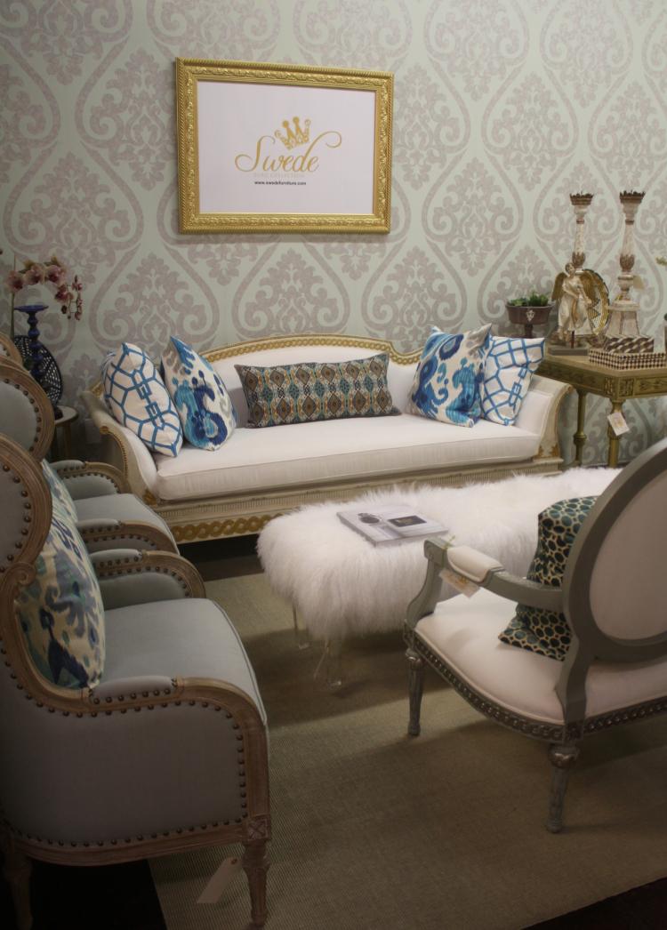 Showroom sofa and chairs