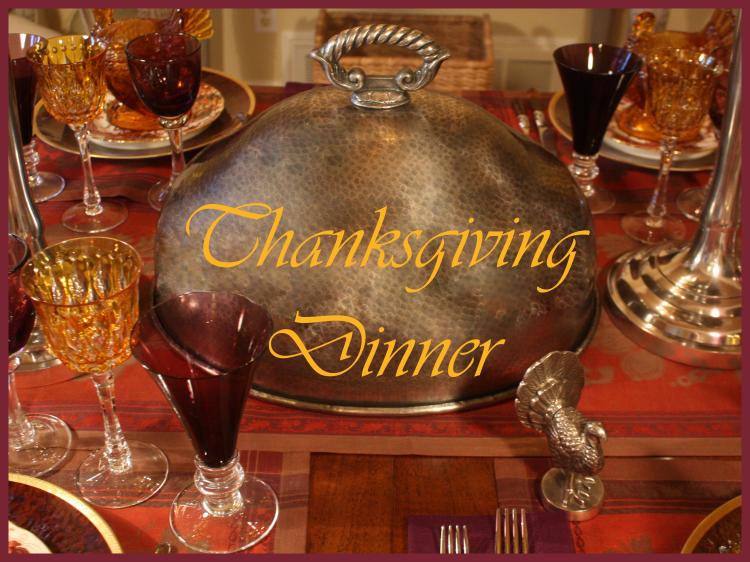 Turkey dome thanksgiving dinner