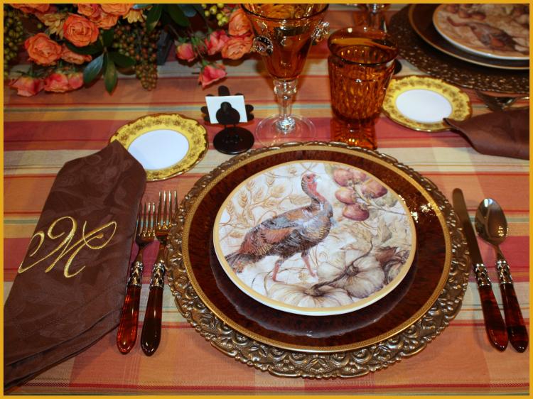 Pottery barn turkey