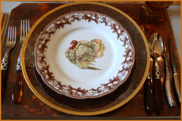 New Turkey Dessert Plate Williams Sonoma