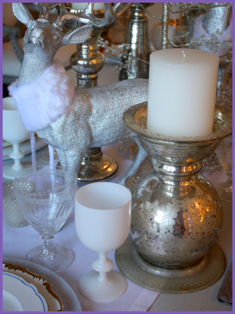 Winter table detail