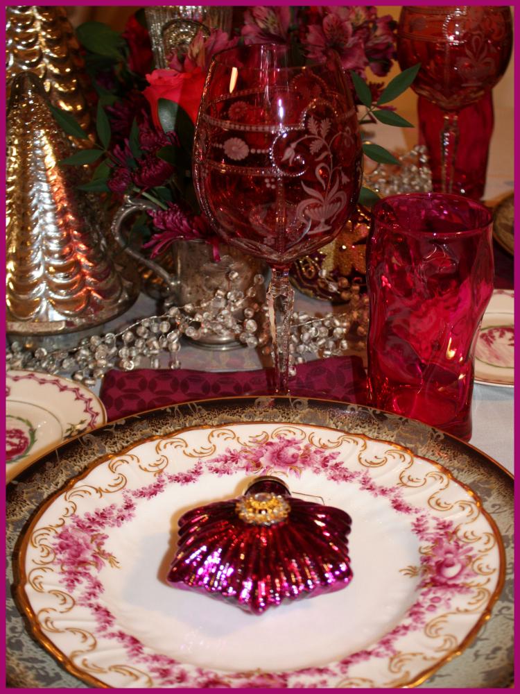Magenta table