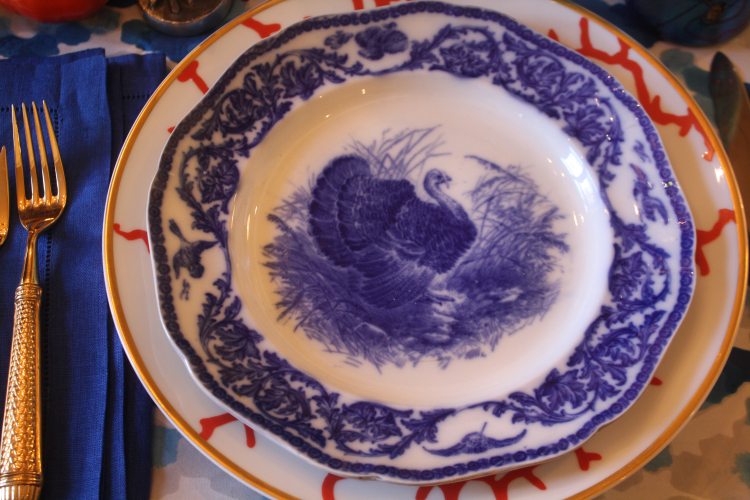 Swede Collection Tgiving 2016 turkey plate