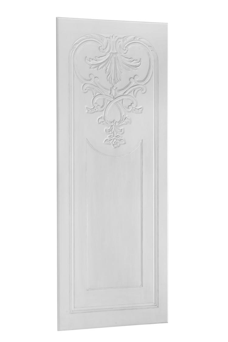 SC064 high res White Medallion Barn Door Front