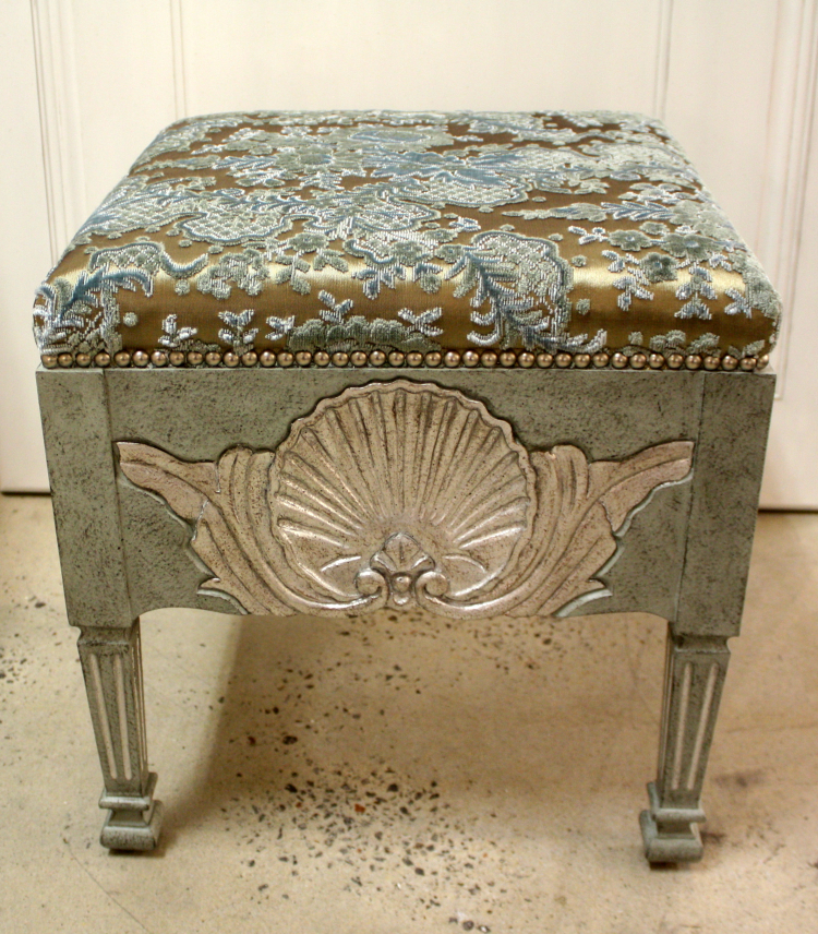 SC048 Shell Stool Front Facing