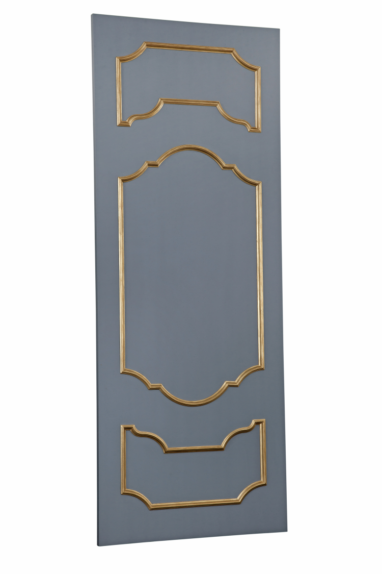 SC063 Grey-Gold Door Front