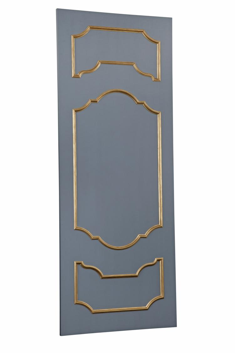 SC063 Grey-Gold Door Front
