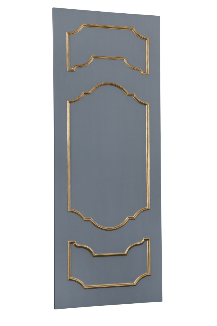 SC063 Grey-Gold Door Back