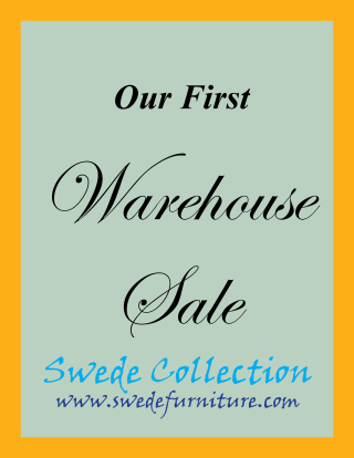 Warehouse Sale Announcement