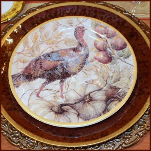 Turkey plate PB