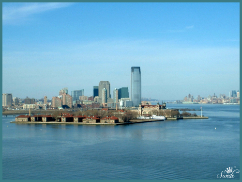 5 buildings on Ellis Island lo